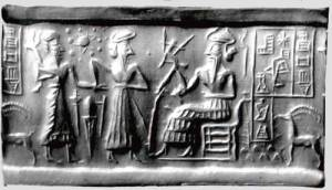 Sumerian-Tablet